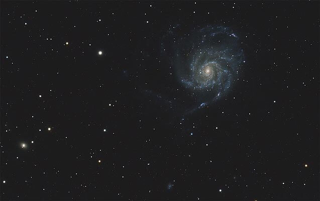 M 101, galaxie du moulinet