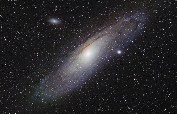 M31, galaxie d'andromede