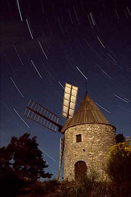 moulin, astrophotographie